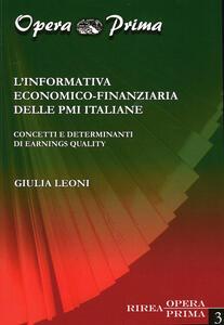 L' informativa economico-finanziaria delle PMI italiane