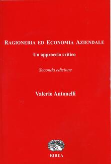 Ragioneria ed economia aziendale - Valerio Antonelli - copertina
