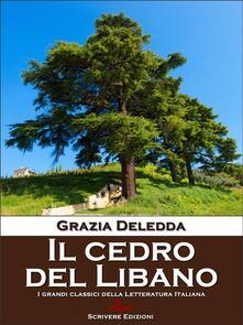 Il cedro del Libano - Grazia Deledda - ebook
