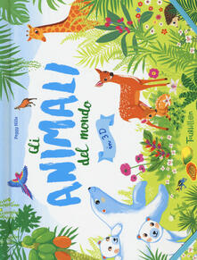 Squillogame.it Gli animali del mondo in 3D. Libro pop-up. Ediz. a colori Image