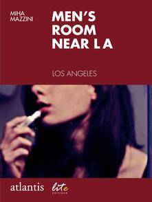 Men's room near LA. Los Angeles, USA