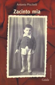Zacinto mia - Antonio Piscitelli - copertina
