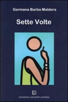 Sette volte - Germana Barba Maldera - copertina