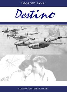 Destino - Giorgio Tanzi - copertina
