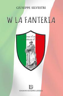 W la fanteria - Giuseppe Silvestri - copertina