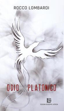 Odio platonico - Rocco Lombardi - copertina