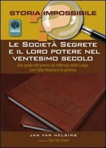 Le società segrete e il loro potere nel XX secolo