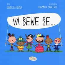 Va bene se... - Isabella Paglia,Francesca Cavallaro - copertina