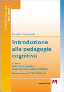 Introduzione alla pedagogia cognitiva