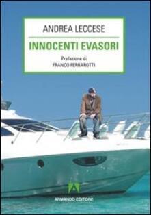 Innocenti evasori - Andrea Leccese - copertina