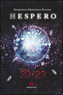 Hespero 23:23 - Domingo Orezzoli Pelosi - copertina