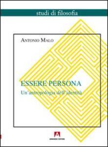 Antondemarirreguera.es Essere persona. Un'antropologia dell'identità Image
