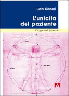 L' unicità del paziente. L'ettagono di Ippocrate - Luca Genoni - copertina