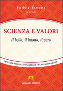 Scienza e valori - copertina