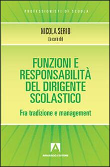 Funzioni e responsabilità del dirigente scolastico.pdf