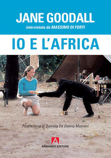 Io e l'Africa - Jane Goodall - copertina