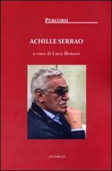 Achille Serrao - copertina