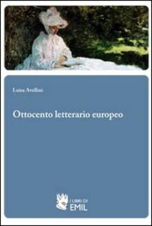 Ottocento letterario europeo - Luisa Avellini - copertina