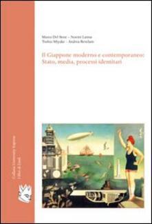 Il Giappone moderno e contemporaneo. Stato, media, processi identitari - copertina