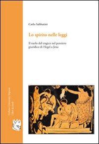 Lo Lo spirito nelle leggi - Sabbatini Carlo - wuz.it