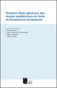 Milanospringparade.it Premiers états généreaux des études québécoises en Italie et perspective européenne Image