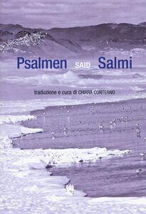 Libro Psalmen-Salmi. Testo tedesco a fronte Said