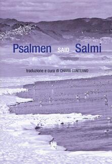Psalmen-Salmi. Testo tedesco a fronte - Said - copertina