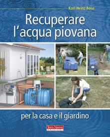 Fondazionesergioperlamusica.it Recuperare l'acqua piovana per il giardino e la casa Image