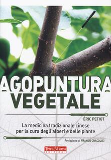 Agopuntura vegetale - Eric Petiot - copertina