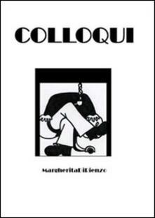 Colloqui - Margherita Di Rienzo - copertina