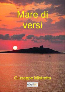 Mare di versi - Giuseppe Mistretta - copertina