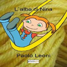 L' alba di Nina - Paolo Leoni - copertina