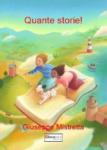 Quante storie! - Giuseppe Mistretta - copertina