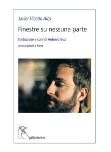Finestre su nessuna parte - Javier Vicedo Alós - copertina