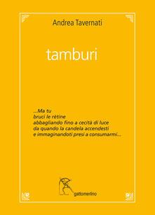 Tamburi - Andrea Tavernati - copertina