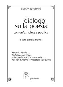 Adiaphora.it Dialogo sulla poesia. Con un'antologia poetica Image