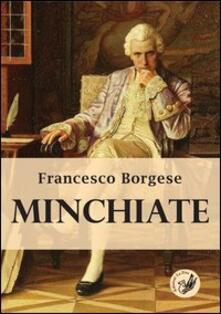 Minchiate - Francesco Borgese - copertina