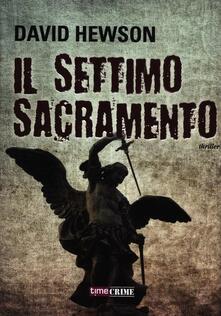 Il settimo sacramento - David Hewson - copertina
