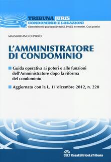 L' amministratore di condominio - Massimiliano Di Pirro - copertina