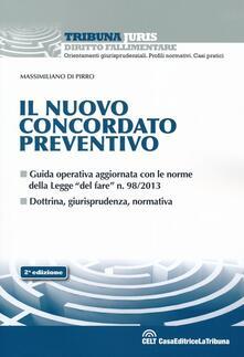 Il nuovo concordato preventivo - Massimiliano Di Pirro - copertina