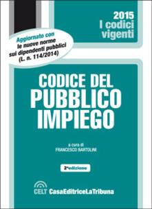 Codice del pubblico impiego - copertina