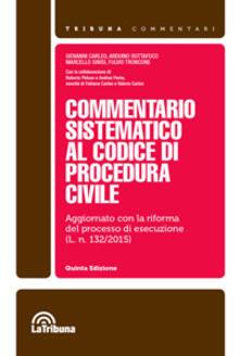 Commentario sistematico al codice di procedura civile - Giovanni Carleo,Arduino Buttafoco - copertina