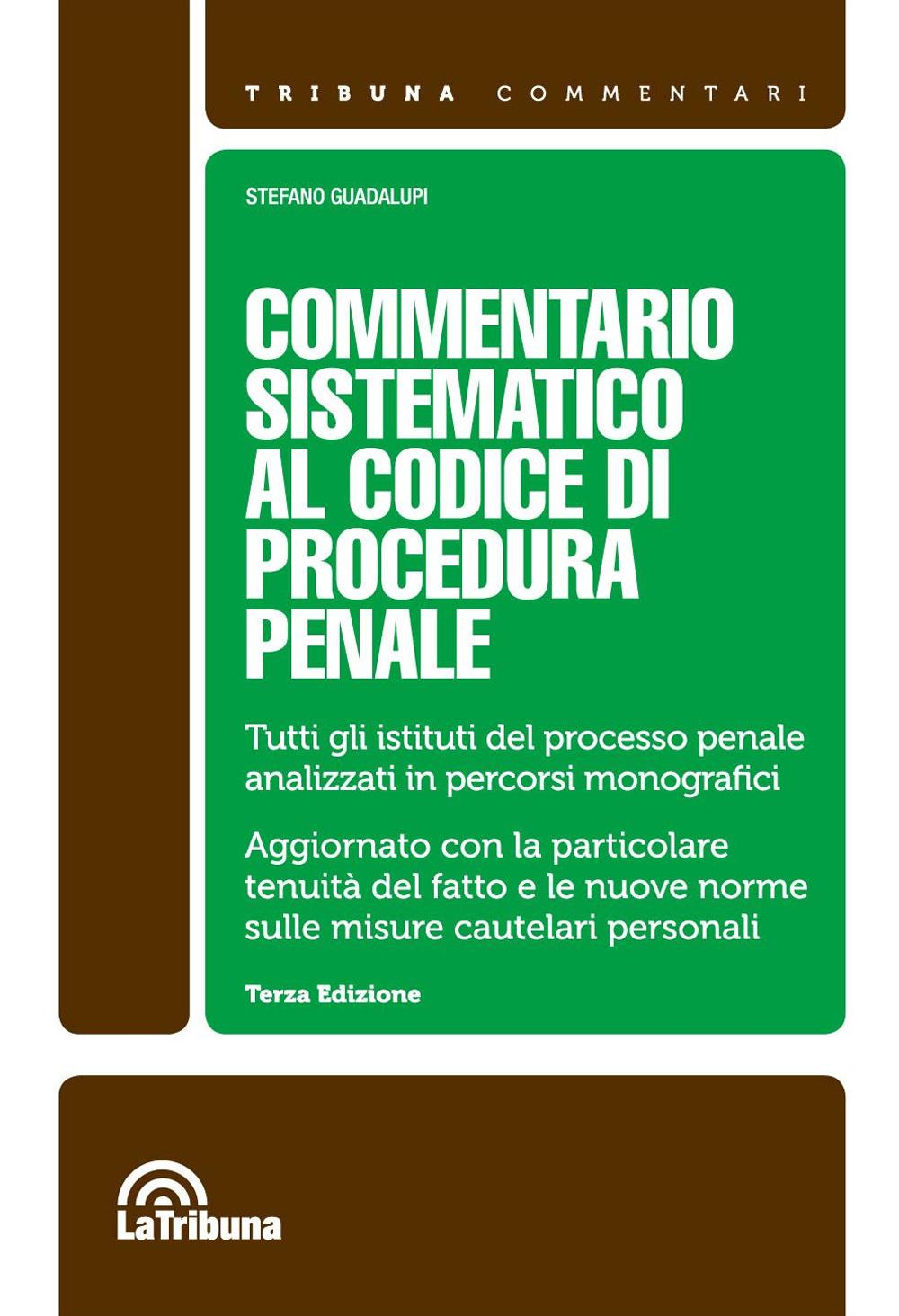 Commentario sistematico al codice di procedura penale