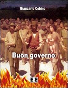 Buon governo - Giancarlo Cobino - copertina