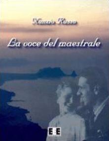 La voce del maestrale - Nunzio Russo - copertina