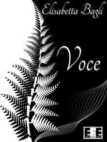 Voce - Elisabetta Bagli - copertina