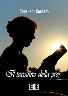 Il taccuino della prof - Consuelo Cordara - copertina