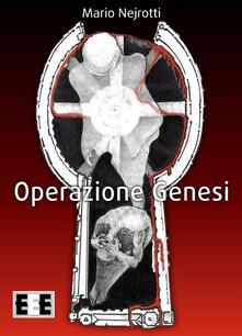 Operazione Genesi - Mario Nejrotti - copertina