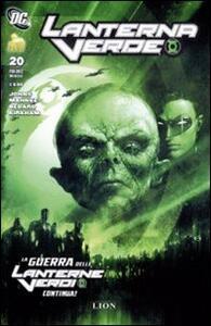 La guerra delle lanterne verdi. Lanterne verde. Vol. 20