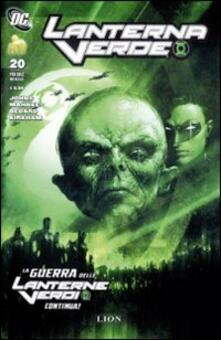 La guerra delle lanterne verdi. Lanterne verde. Vol. 20 - copertina